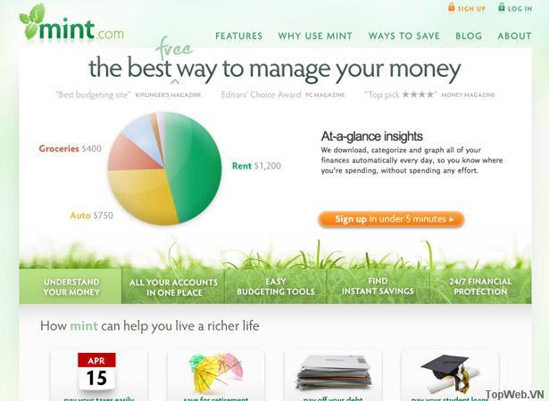 50 giao diện đẹp của website doanh nghiệp