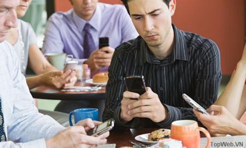 Gọi điện không còn là chức năng chính của smartphone