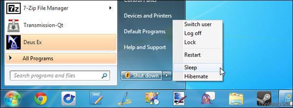 Đánh thức PC từ chế độ Sleep một cách tự động