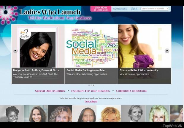 Top 10 Website phụ nữ lập nghiệp do Forbes bình chọn