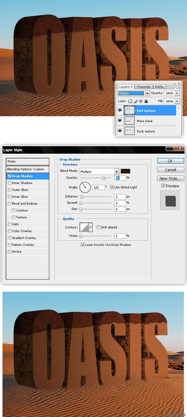 Tạo Chữ 3D & Phối Cảnh