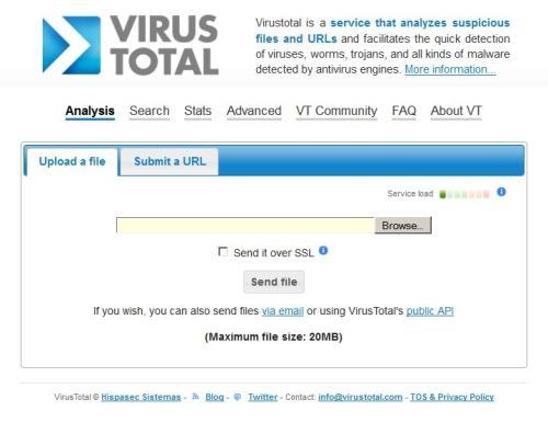 Bộ 3 dịch vụ kiểm tra virus ngay trên trình duyệt