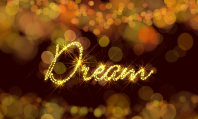 Học photoshop: Dream Text - Chữ lung linh